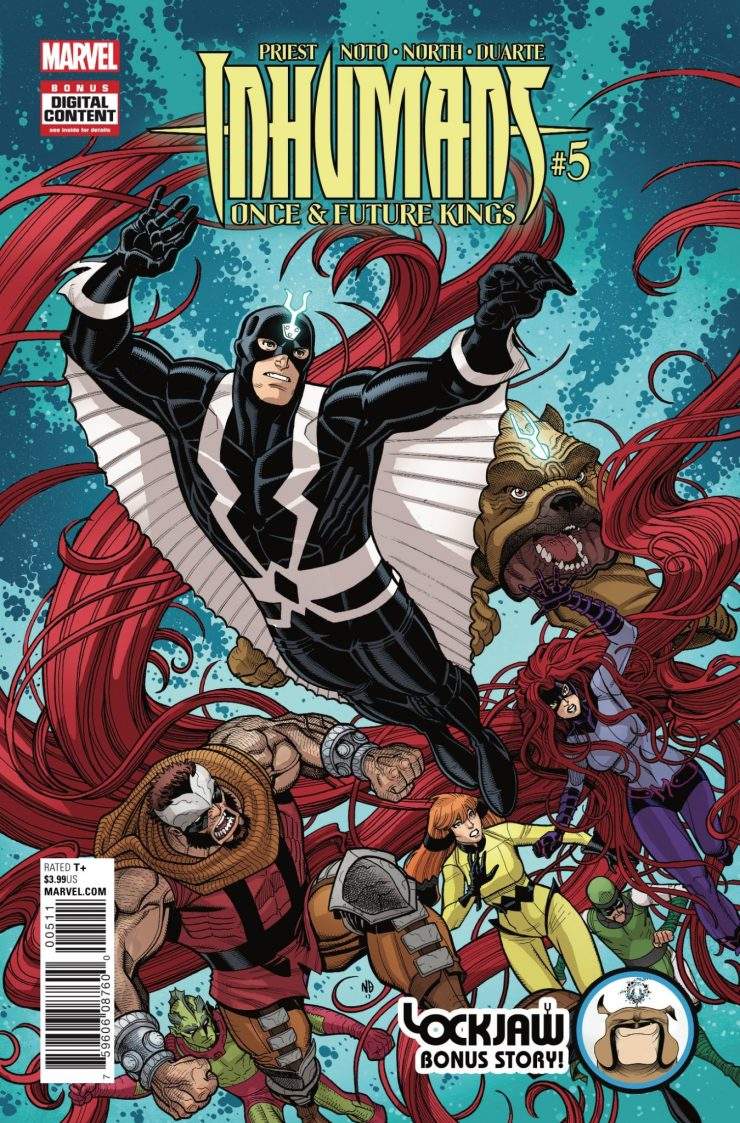 Marvel Preview: Inhumans: Once and Future Kings #5