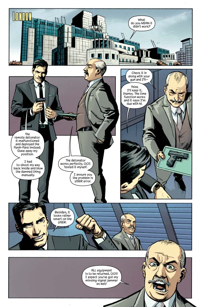 James Bond: Solstice #1 Review