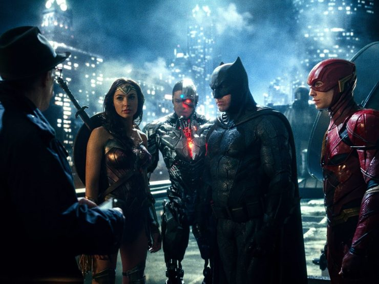 """""""Justice League"""" excels in some ways, but hinders Batman and ends up being a so-so action film."""