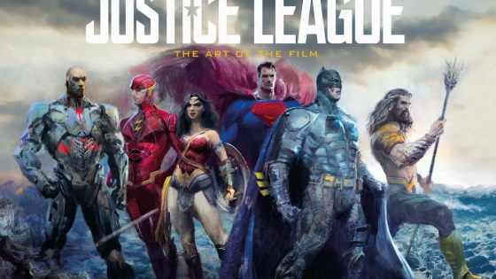See behind the scenes photos and art designs of 'Justice League: The Art of the Film', out now!