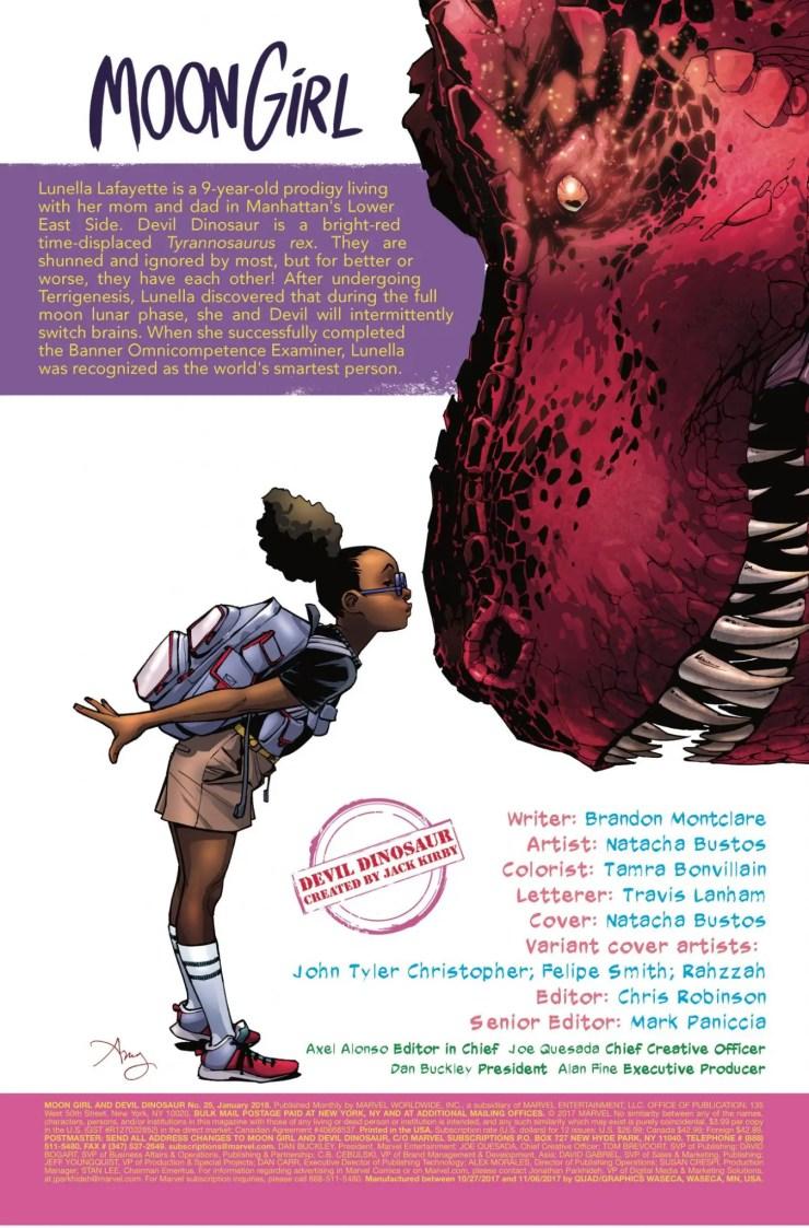 Marvel Preview: Moon Girl and Devil Dinosaur #25