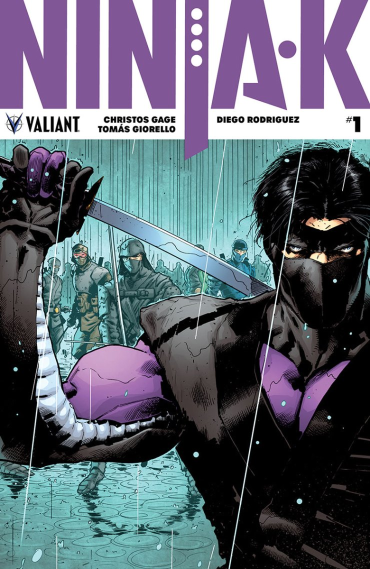 Valiant Preview: Ninja-K #1