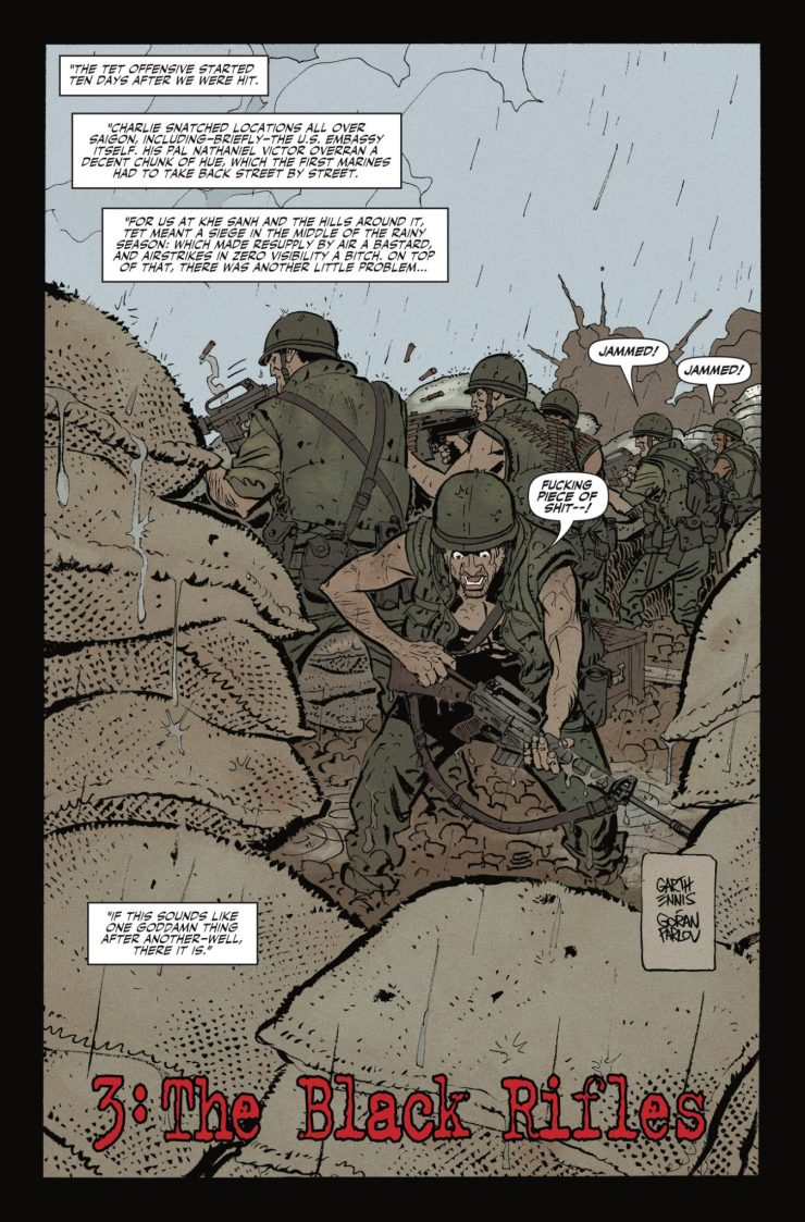 Marvel Preview: Punisher: The Platoon #3