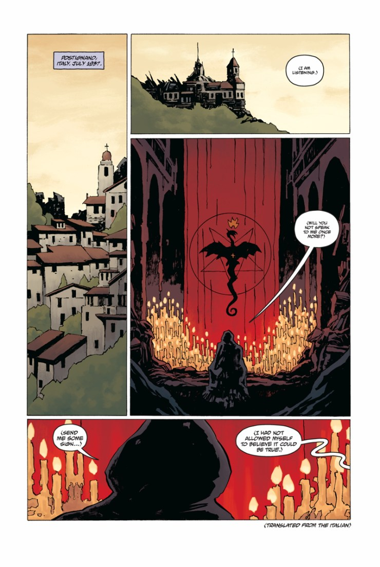"""""""Comics were my first language"""" - Writer Chris Roberson discusses new Hellboy comic 'Rasputin: The Voice or the Dragon'"""