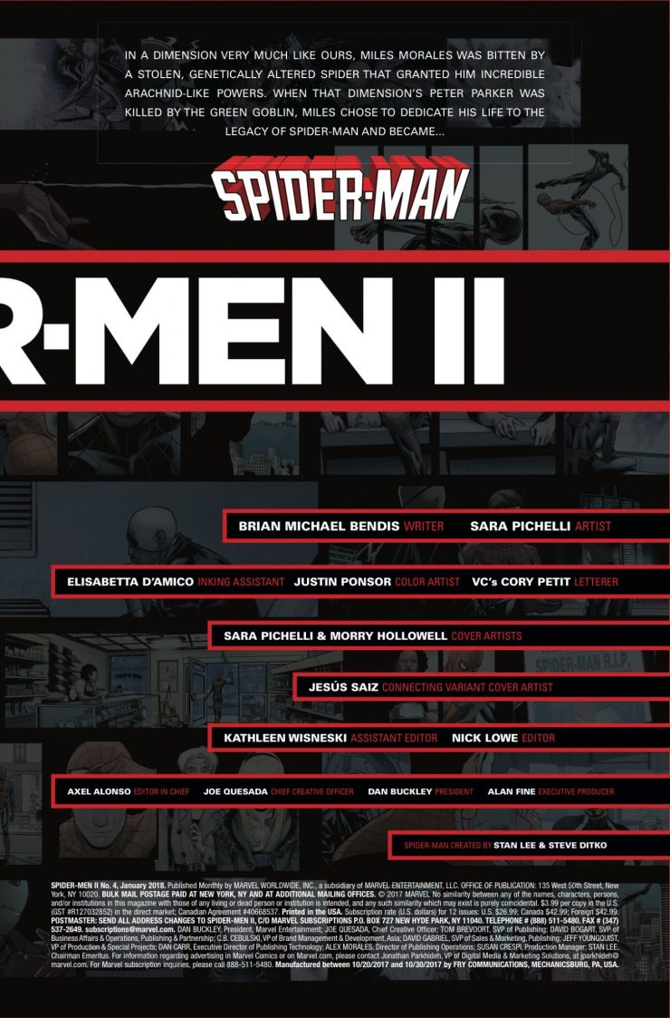 Marvel Preview: Spider-Men II #4