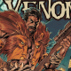 After saving the dinosaur people beneath the streets of New York from Kraven, VENOM has become the master hunter's new prey! Vengeful, relentless and unable to be killed, Kraven finds himself a heartbeat away from adding a new trophy to his collection - THE HEAD OF EDDIE BROCK!