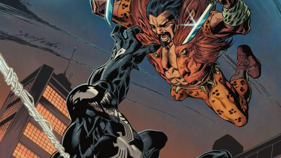 It's all or nothing as Venom and Kraven square off for their final battle! But how can Venom protect himself and the innocents living under New York's streets from a hunter who can't die?