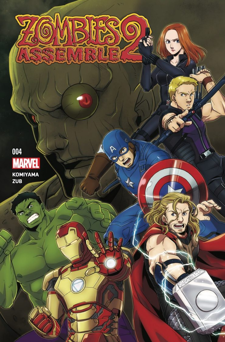Marvel Preview: Zombies Assemble 2 #4