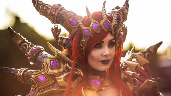 Jessica Nigri unveils her latest cosplay: Alexstrasza from World of Warcraft.