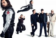 Winter Soldider, Wong, Wasp, Tony Stark, President of Marvel Studios Kevin Feige, and Marvel Comics legend Stan Lee