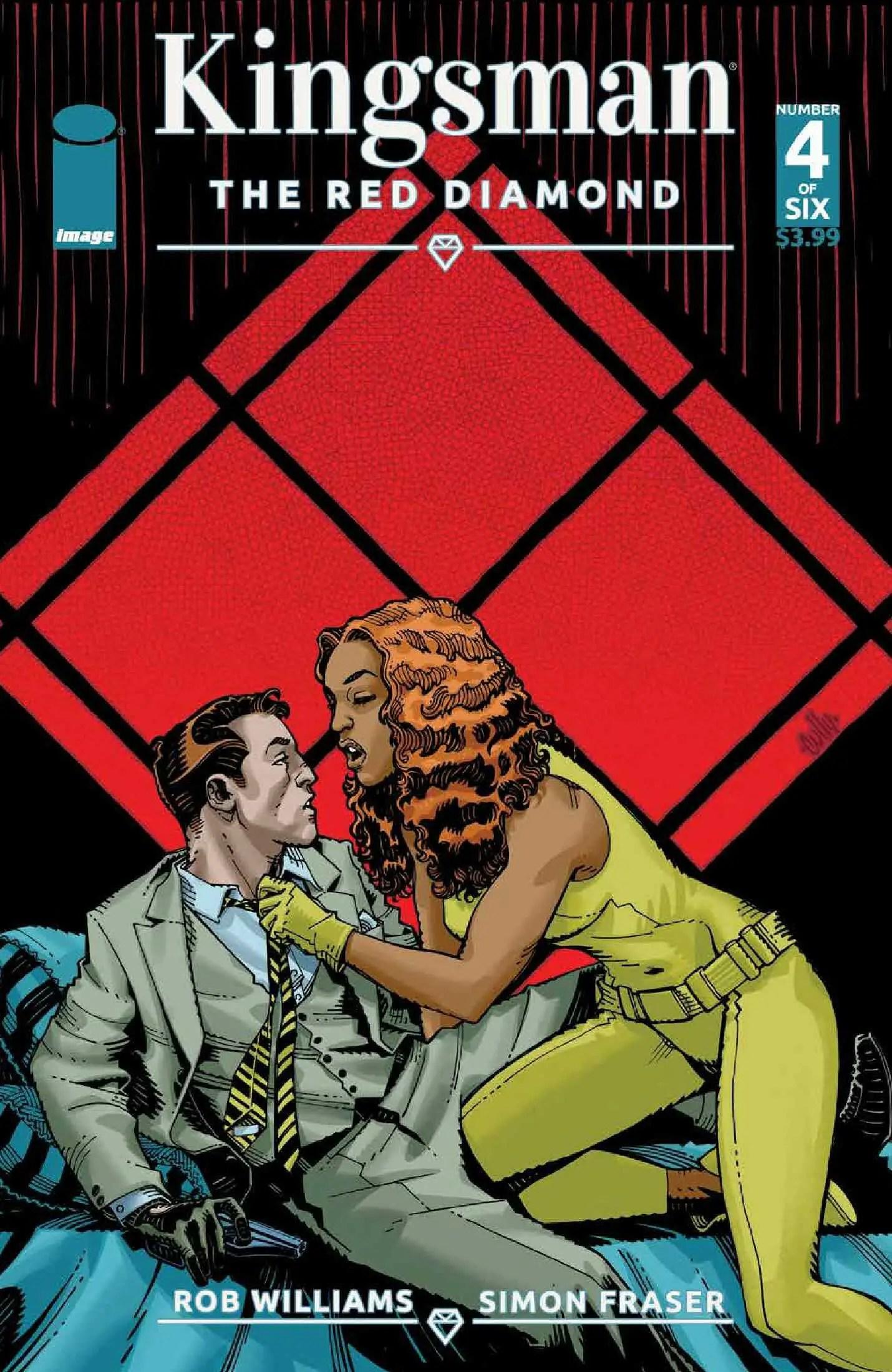 Kingsman: The Red Diamond #4 Review