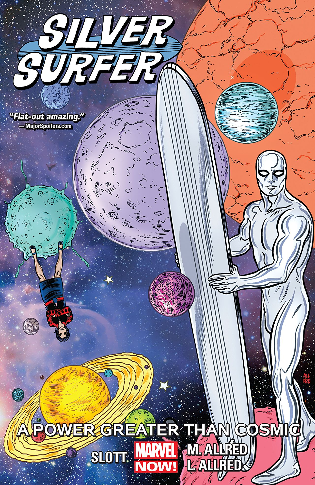 'Silver Surfer Vol. 5: A Power Greater Than Cosmic' review: Such refreshing heartache