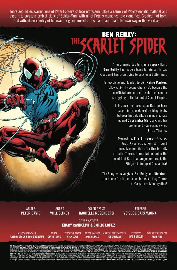 Marvel Preview: Ben Reilly: Scarlet Spider #12