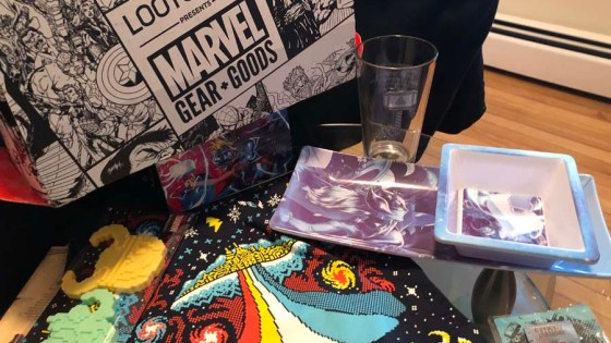 We unbox the December 2017 Marvel Gear + Goods Loot Crate!