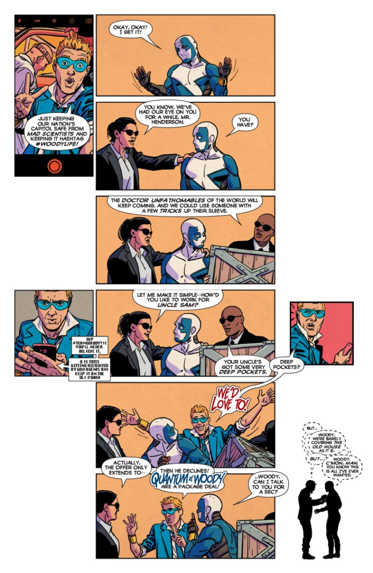 Quantum and Woody #1 Review