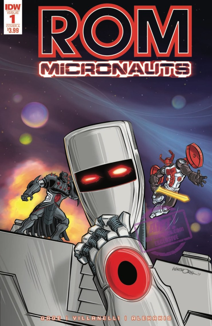 [EXCLUSIVE] IDW Preview: Rom & The Micronauts #1