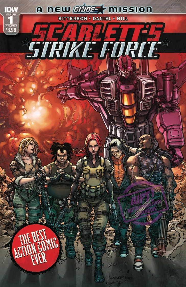 [EXCLUSIVE] IDW Preview: Scarlett's Strike Force #1