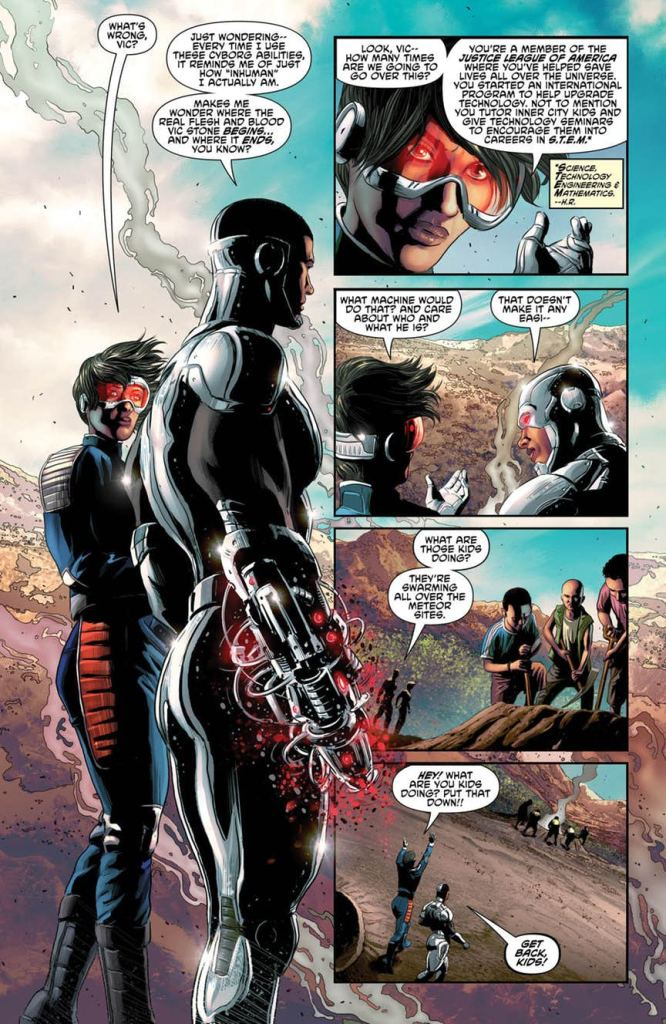 Cyborg #19 Review