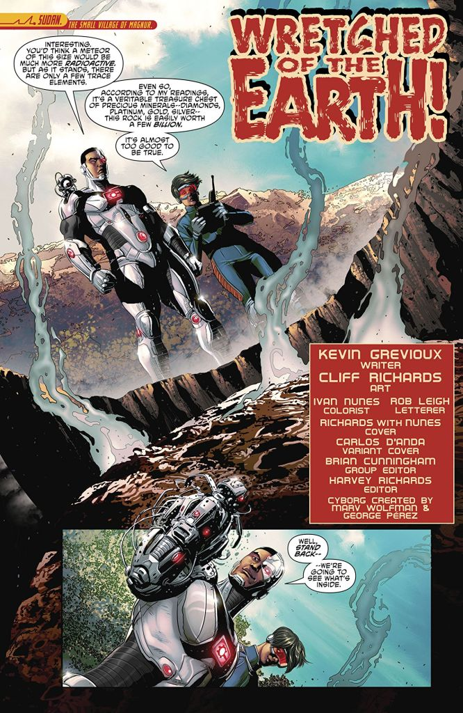 Reality Check:  3 Quick Hits from 'Cyborg' #19