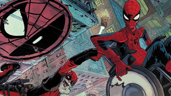 Spider-Man/Deadpool #26 sends Spidey and DP far into the future.