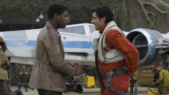 Stephen Colbert posed the question: Is Poe Dameron a better pilot than Han Solo? Give it some thought.