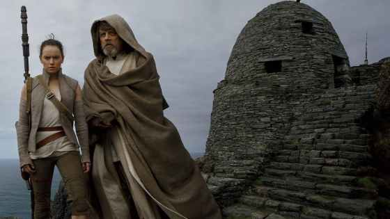 Luke only taught Rey two lessons on Ahch-To.  The third lesson didn't make it to the big screen for an interesting reason.