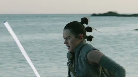 'Star Wars: The Last Jedi' deleted scene video features a very angry Rey