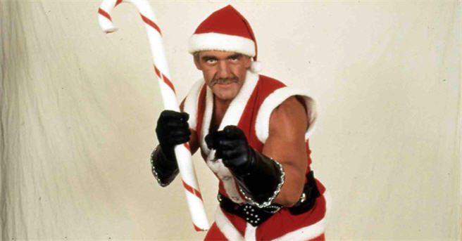 Have You Scene? Santa with Muscles