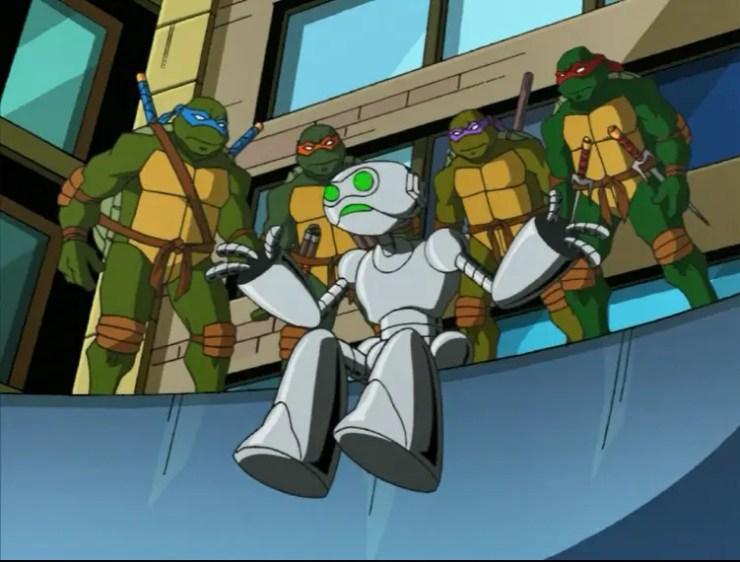 Fugitoid and Turtles sitting