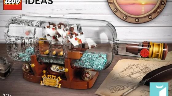 LEGO Ideas reveals new Ship in a Bottle building set