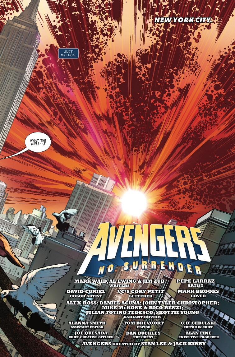 Avengers #675 Review: every Avenger is needed to win this one