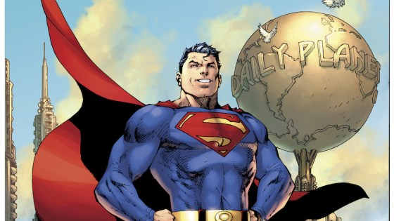 Superman gets a new costume designed by Jim Lee for Action Comics #1000