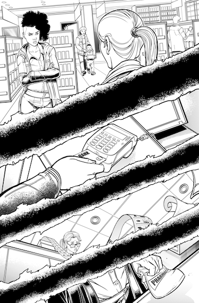 Writer Pat Shand explores the horror of big-pharma in his new series 'Breathless'