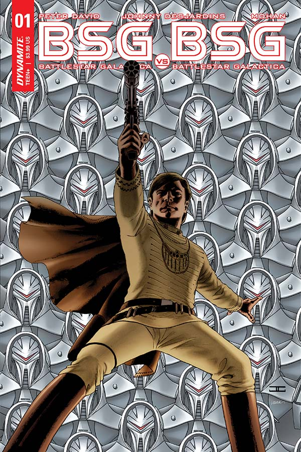 Battlestar Galactica vs. Battlestar Galactica #1 Review