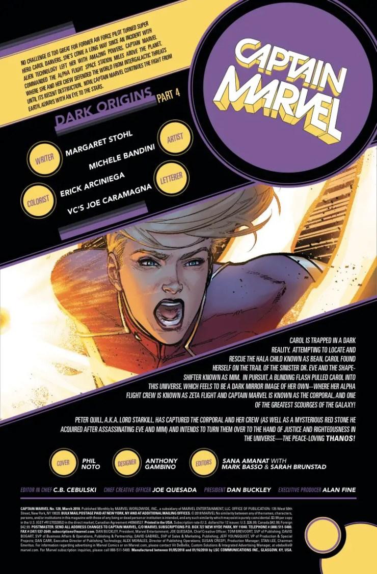 Marvel Preview: Captain Marvel #128