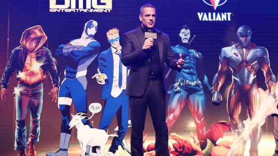 Filmmaker Dan Mintz Acquires Valiant Entertainment—The World's Largest Independently Owned Library of Comic Book-Based IP.