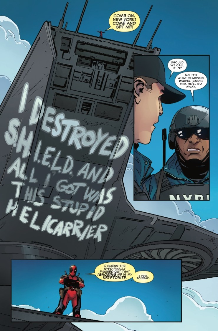 Marvel Preview: Despicable Deadpool #293