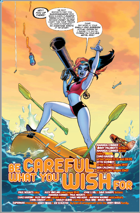 'Harley Quinn: Be Careful What You Wish For' review