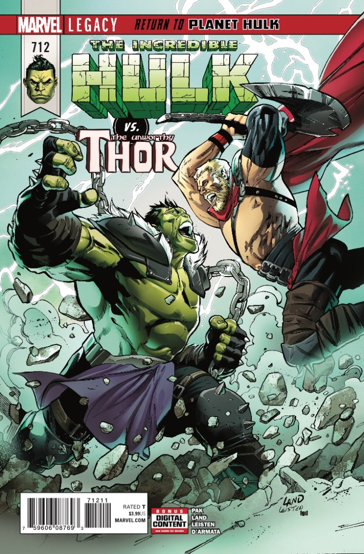 Marvel Preview: The Incredible Hulk #712