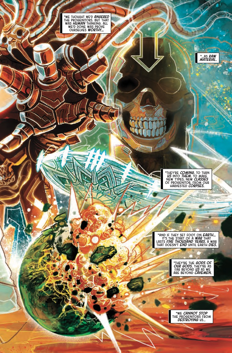 Inhumans: Judgment Day #1 Review