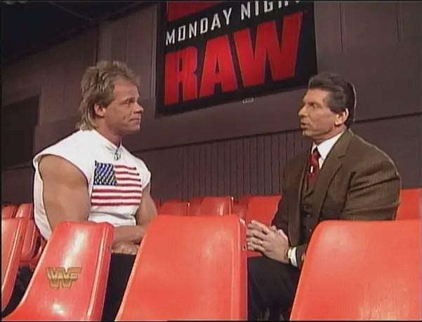 Lex Luger and Vince McMahon