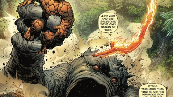 You'll get the feels for Fantastic Four when reading this one!