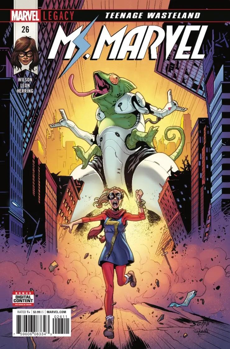 Marvel Preview: Ms. Marvel #26