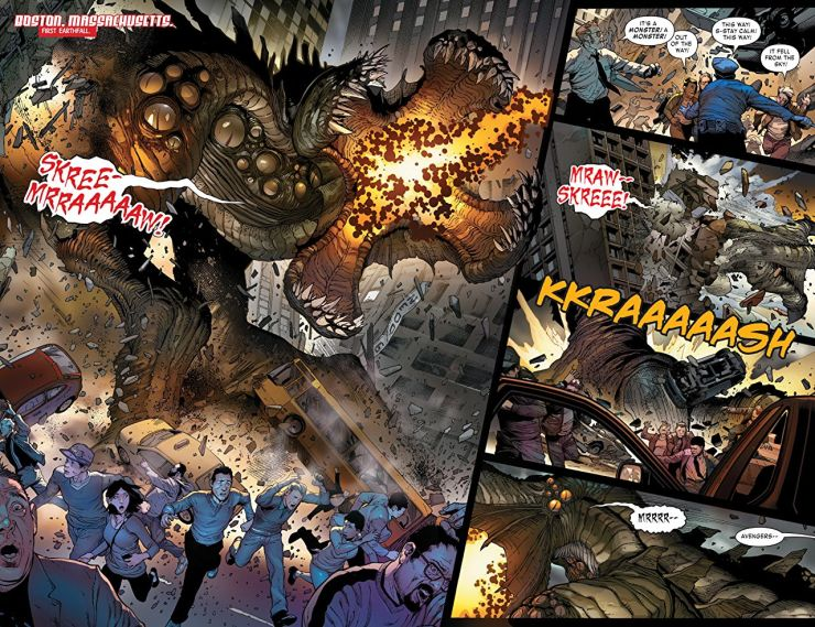 'Monsters Unleashed' is the comic I didn't know I needed