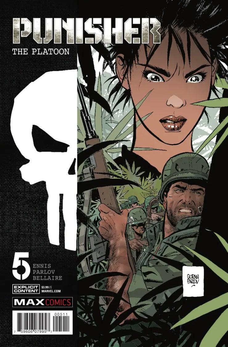 Marvel Preview: Punisher Platoon #5