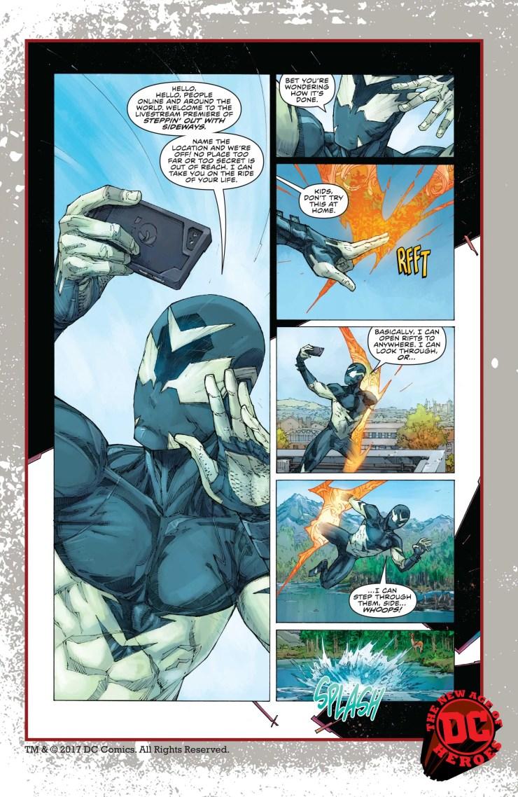 DC Preview: Sideways #1