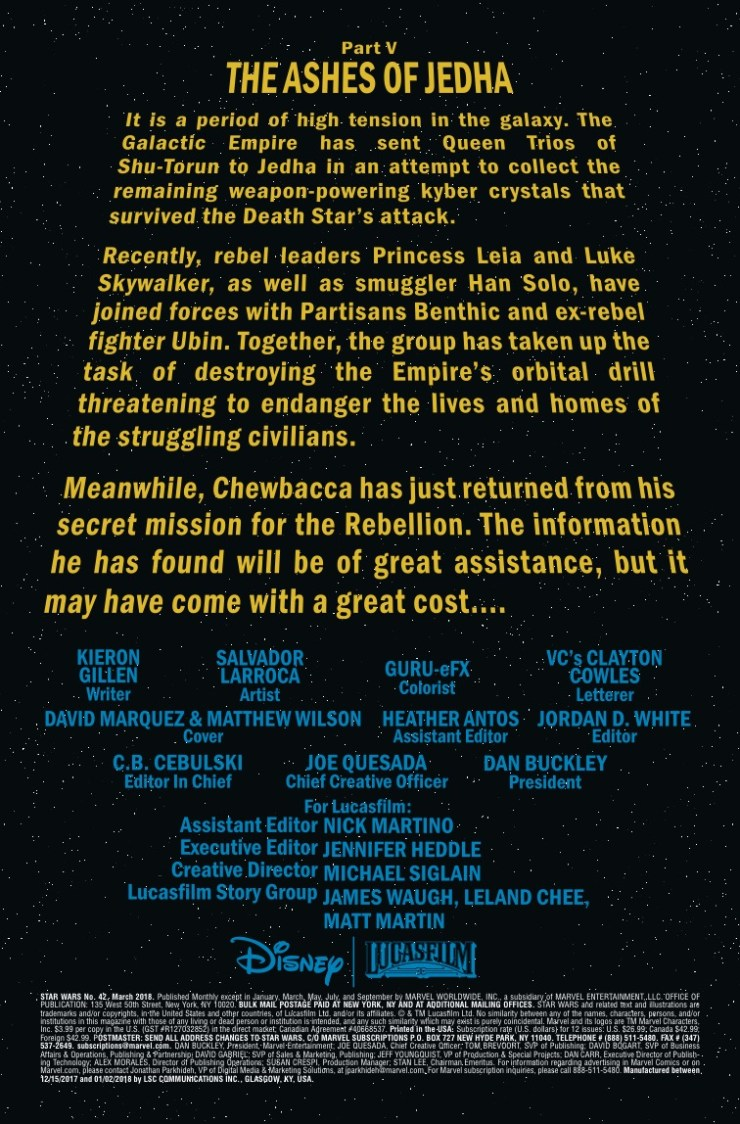 Marvel Preview: Star Wars #42