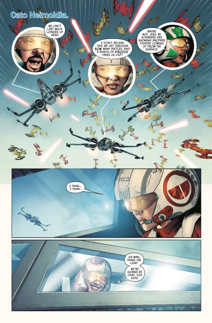 Marvel Preview: Star Wars: Poe Dameron #23