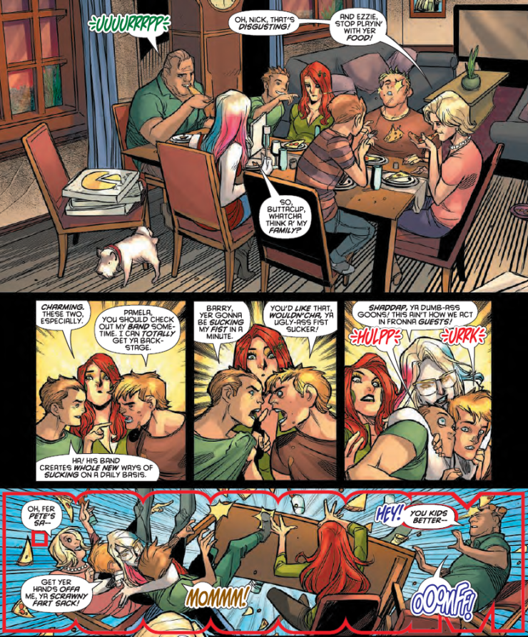 Meet Harley's entire family in Harley Quinn #34