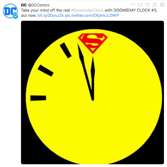 DC says forget nuclear winter, read comics instead